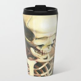 The Thinker Metal Travel Mug