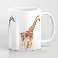 Giraffe Art - A Mother's Love - By Sharon Cummings Mug