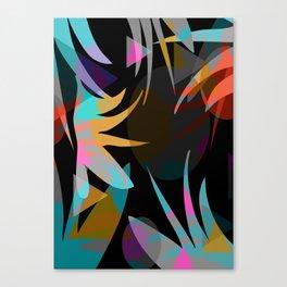 Nightjungle Canvas Print