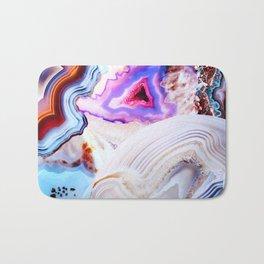 Agate, a vivid Metamorphic rock on Fire Bath Mat