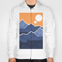 The mountains under the two suns Hoody