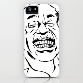 Face Louis Armstrong iPhone Case
