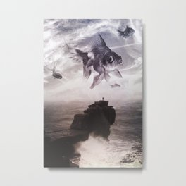 What The Sea Brought Metal Print