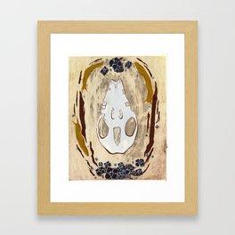 Cycle (Hedgehogs & Flowers) Framed Art Print