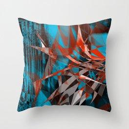 floating menance Throw Pillow