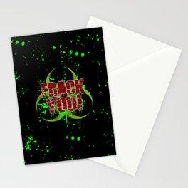 Frack You! Stationery Cards
