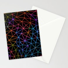 Geometric Glow Stationery Cards