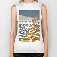 lighthouse Biker Tanks featuring lighthouse by gazonula