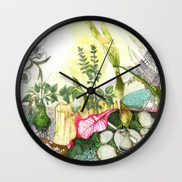 Grow Wall Clock