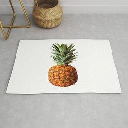 Pineapple Tropical Fruit Vector Art Rug
