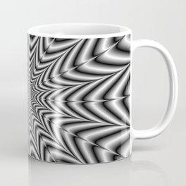 Super Nova in Black and White Coffee Mug