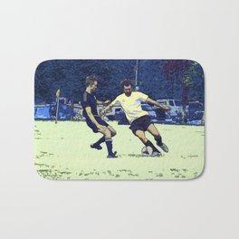 The Challenge - Soccer Players Bath Mat