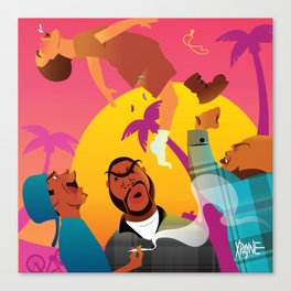 Knocked The Eff Out Canvas Print
