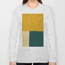Yellow White Petroleum Long Sleeve T-shirt