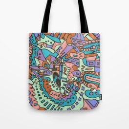 Tear My Heart Out (Orchid) Tote Bag