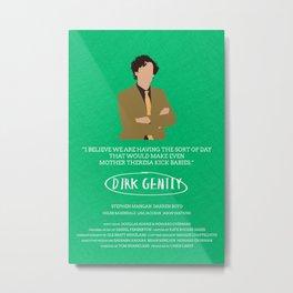 Dirk Gently Metal Print