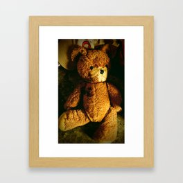 Beauty From the Ashes:  The Teddy Bear Framed Art Print