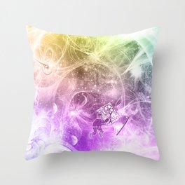 The Quantum Mechanic Throw Pillow