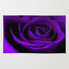 A Purple Rose Rug
