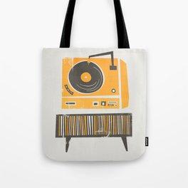 Vinyl Deck Tote Bag