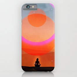new moon musing iPhone Case