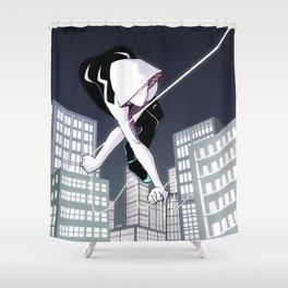 Gwen Swinging Shower Curtain