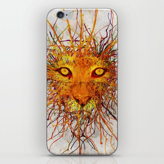 Lion Drip iPhone & iPod Skin