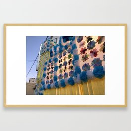Japan Tanabata Matsuri Street Festival Framed Art Print