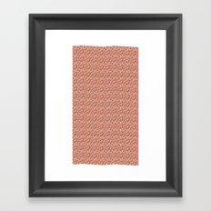 Color Blocks Pattern Framed Art Print