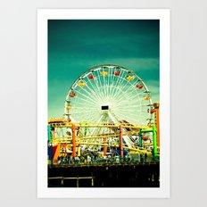 Farris Wheel  Art Print
