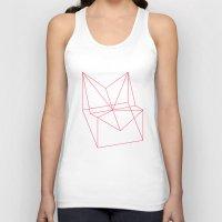 polygon Tank Tops featuring Polygon by Rubraga