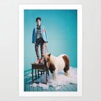 shinee Art Prints featuring Taemin - SHINee by Felicia