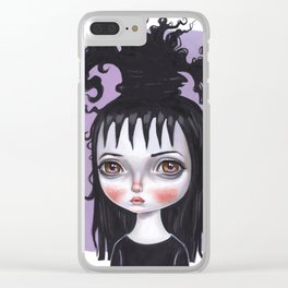 Lydia Deetz Clear iPhone Case