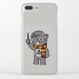 Bearry Potter Clear iPhone Case
