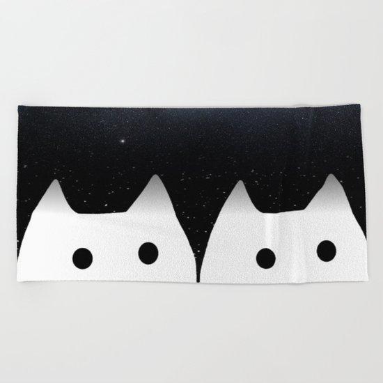 cat-36 Beach Towel