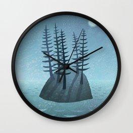 Pine Island Wall Clock