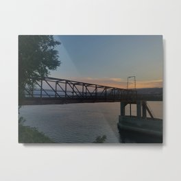 Columbia riverside Metal Print