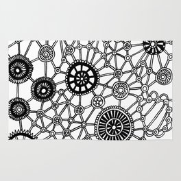 Gears n Wheels Rug