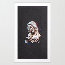 to damn a heart Art Print