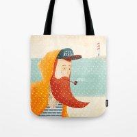 beach Tote Bags featuring Beach by Seaside Spirit