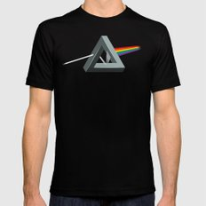 Dark side impossible LARGE Black Mens Fitted Tee