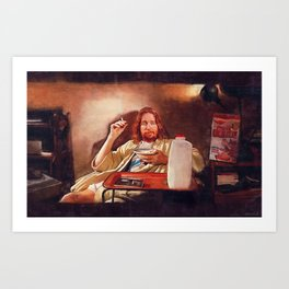 Lance The Drug Dealer - The Dude - Pulp Fiction Art Print