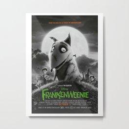Frankenweenie Poster movie Metal Print