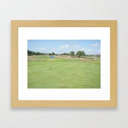 Golf du Touquet, France Framed Art Print