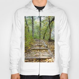 Starved Rock Hiking Trail (Fall Photography) Hoody