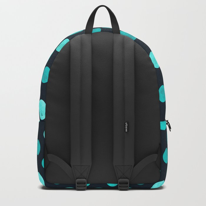 Watercolor Dots Pattern IV Backpack