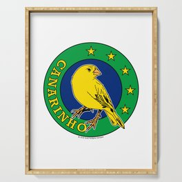 Brasil Canarinho (Little Canary) ~Group E~ Serving Tray