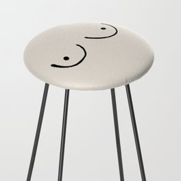 Boobs Counter Stool