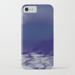 Dance with the moon iPhone Case