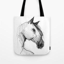 Horse (a head) Tote Bag